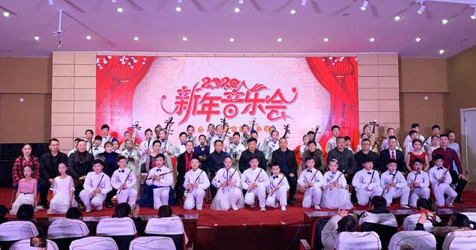 永城市第六小学举行2020年新年音乐会